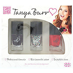 Tanya Burr Trio Nail Polish 3 x 12ml Gift Set - 202