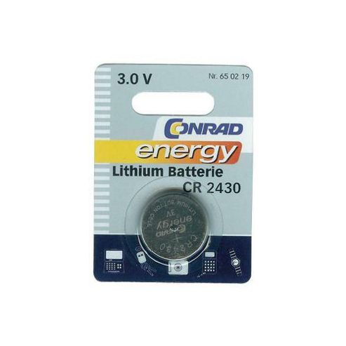 Conrad Lithium Coin Cell Battery
