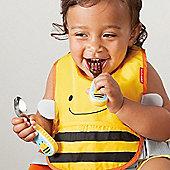 Skip Hop Zoo-Tensils Fork & Spoon Set - Bee