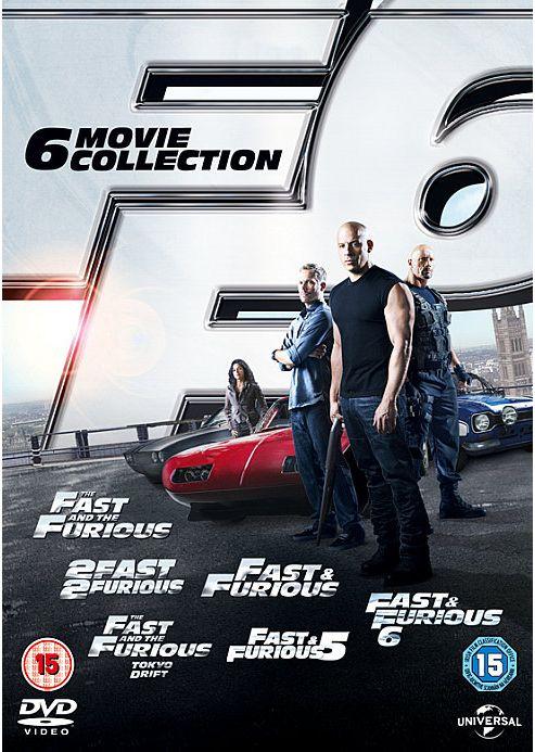 Fast & Furious 1-6 (DVD)