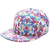 New Era Cap Co Digi Fleur NY Yankees Snapback Cap - Multi
