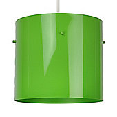 Modern Ceiling Pendant Light Shade in Gloss Green