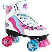 Rio Roller Cupcake Ltd Edition Quad Roller Skates - Multi