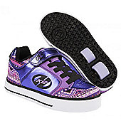 Heelys Thunder Purple/Multi/Print X2 Heely Shoe - Purple