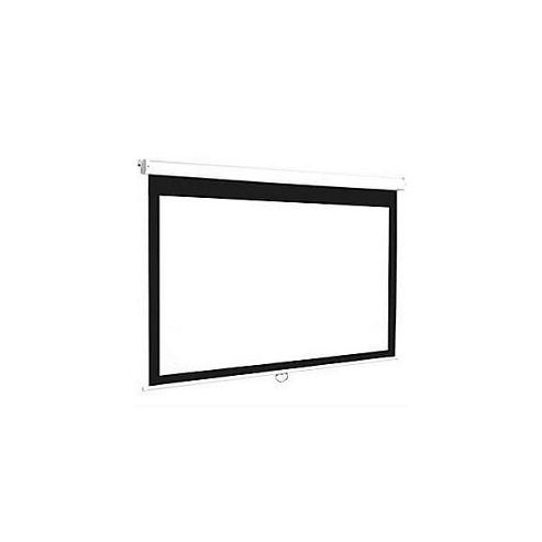 Euroscreen Connect Manual Square Format Projection Screen, 200cm x 200cm - White