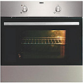 Zanussi ZOB140X Built In Electric Single Oven in Stainless Steel
