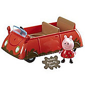 Peppa Pig Vehicle with Figure - Muddy Puddle Car