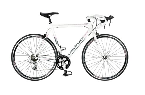 53cm Viking Elysee STI 14-Speed 700c Wheel Ladies' Bike, White