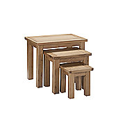 Kelburn Furniture Wiltshire Nest of Tables