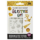 Glisten Up Glitter Tattoos - Gold