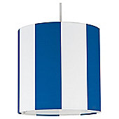 Tesco Kids Blue Stripe Ceiling Shade