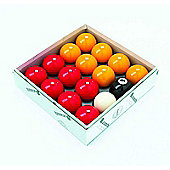 Aramith 2'' Red & Yellow Pool Ball Set