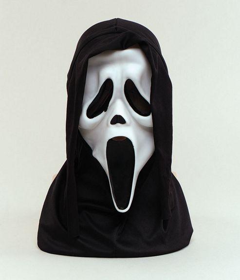 Scream Mask White (B12)