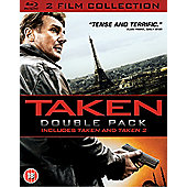 Taken 1-2 Double Pack (DVD)
