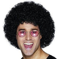 Bristol Novelty - Afro Wig - Black Economy