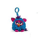 Furby Wild Colours 8cm Keychain With Sound Dark Blue