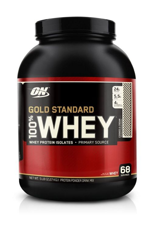 Optimum Nutrition 100% Whey Protein 2.27kg - Cookies and Cream