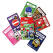 Steady Eddie Travel Cards Game