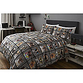 Photobooth 13.5 Tog University Bedding Bundle - Double