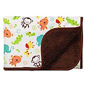 Baby Blanket- Zoo Friends