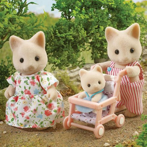 Sylvanian Families The Devon's New Arrival with Pushchair