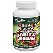 Animal Parade Fruit & Veggies Chewable.
