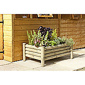 Timberdale Raised Log Planter
