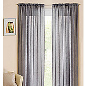 Casablanca Rod Pocket Voile Panel - Grey