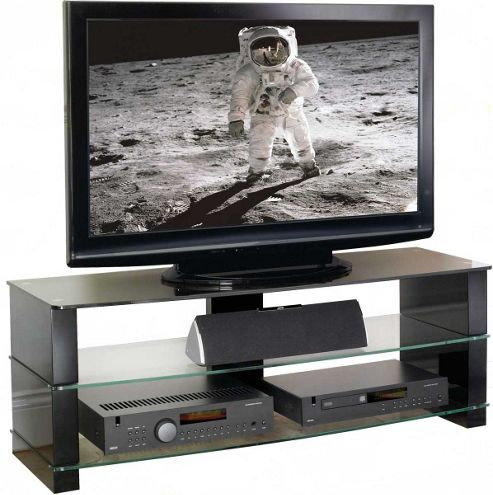 Peerless Manhattan 1200 White TV Stand