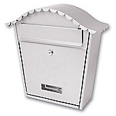 Sterling Classic Stainless Steel Metal Post Box
