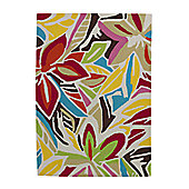 Think Rugs Hong Kong Multi Tufted Rug - 80 cm x 150 cm (2 ft 7 in x 4 ft 11 in)