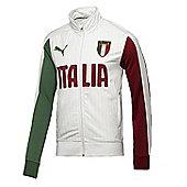 2014-15 Italy Puma FIGC Track Jacket (White) - White