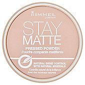 Rimmel Stay Matte Pressed Powder Pink Blossom