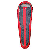 Yellowstone Mummy Sleeping Bag, Red