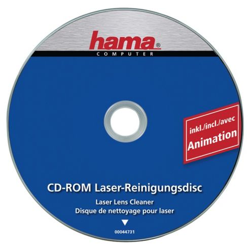 DSHamaCD ROM Laser Lens Cleaner  including animation.