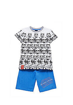 Star Wars Stormtrooper Shorts Pyjamas - White