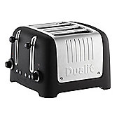 Dualit 46294 4 Slice Stoneware Lite Toaster - Basalt
