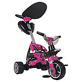 Injusa Bios Convertible Ride-On Trike, Pink