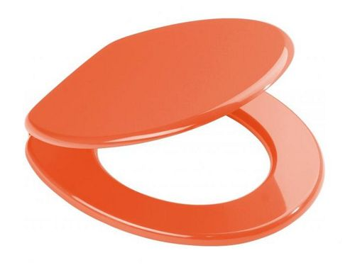 Sanwood Aruba Toilet Seat - Orange