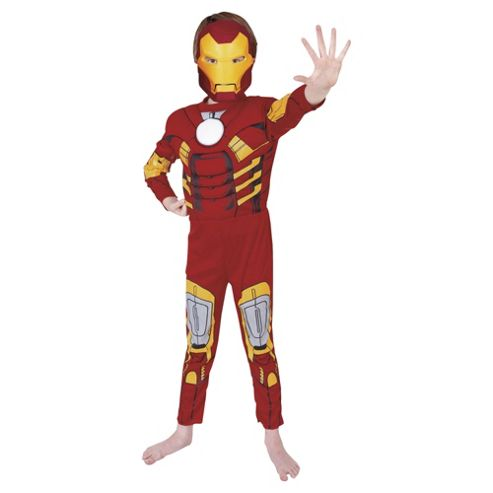Iron Man Deluxe - Child Costume 7-8 years
