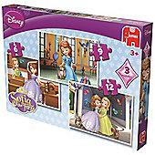 Disney Sofia The First Trio Jigsaw Puzzles