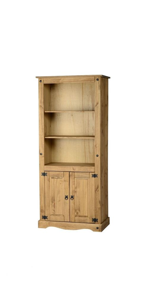 Home Essence Corona 2 Door Display Unit / Bookcase