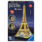 Eiffel Tower at Night - 3D Puzzle