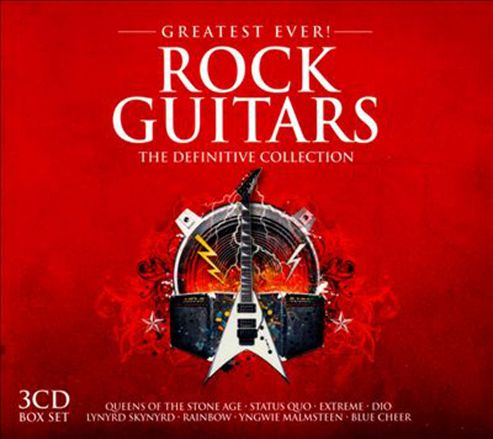Greatest Ever Rock Guitars (3CD)