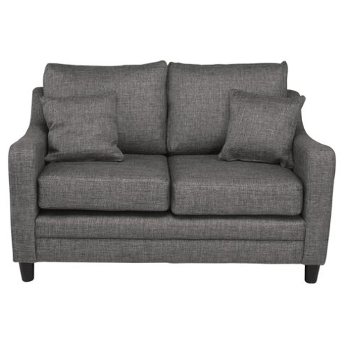 Buckingham Fabric Small 2 seater Sofa , Charcoal