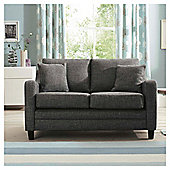 Buckingham Fabric Small Sofa in Charcoal