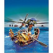 Playmobil Pirate and Row Boat Egg