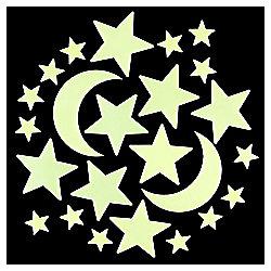 Tesco Glow In The Dark Star Stickers