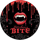Fangtastic Vampire Party Paper Plates 23cm