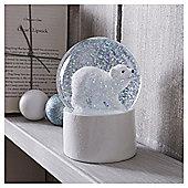 Tesco Polar Bear Snowglobe